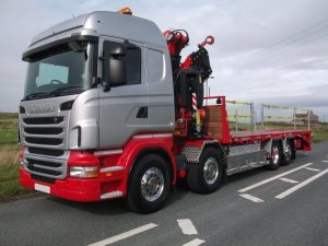 Scania (2013, 2015 & 2019) G450 8 x 2 with Rigid Flat Body
