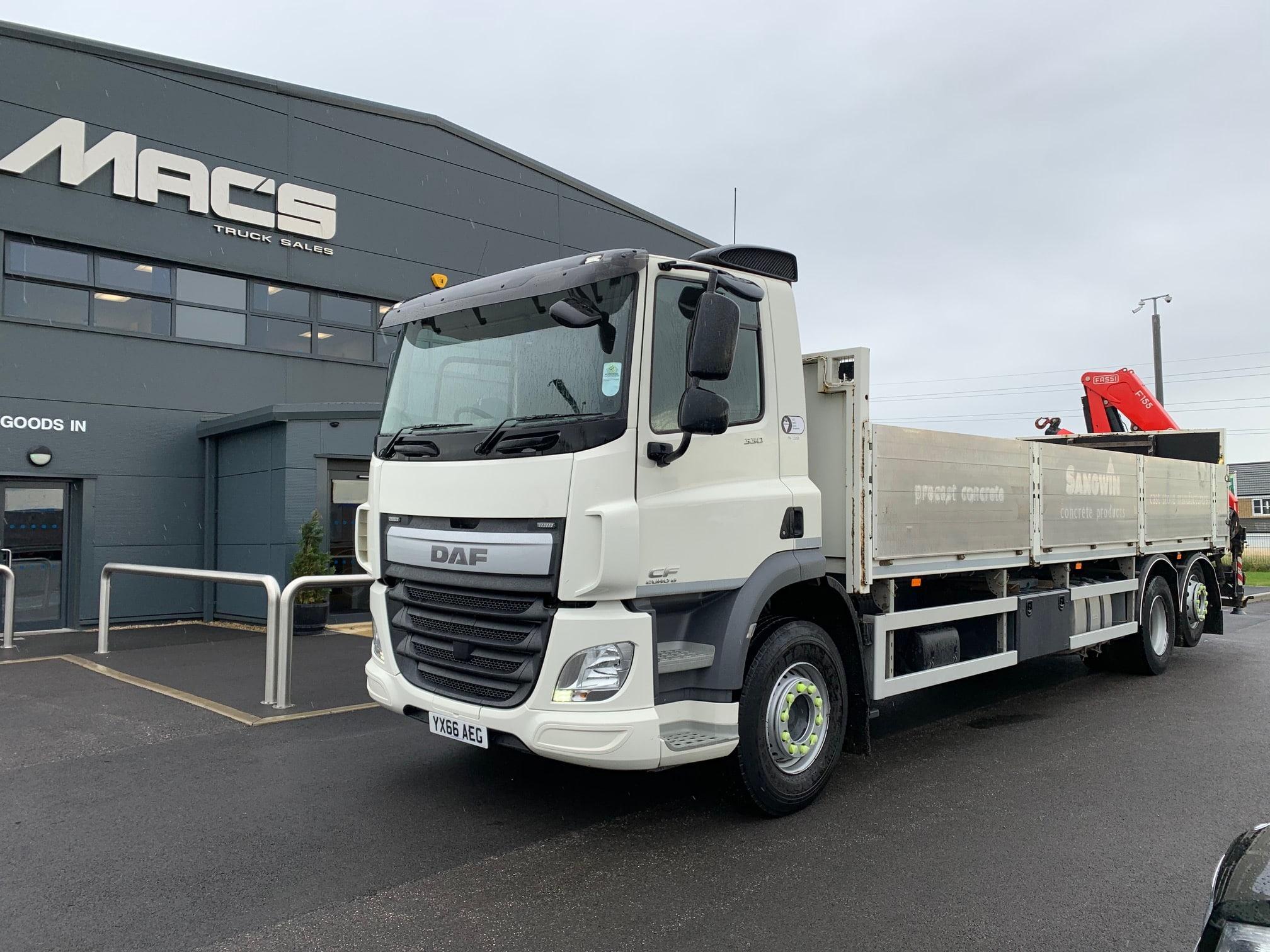 Mac's Trucks in Huddersfield – Buy New & Used Trucks