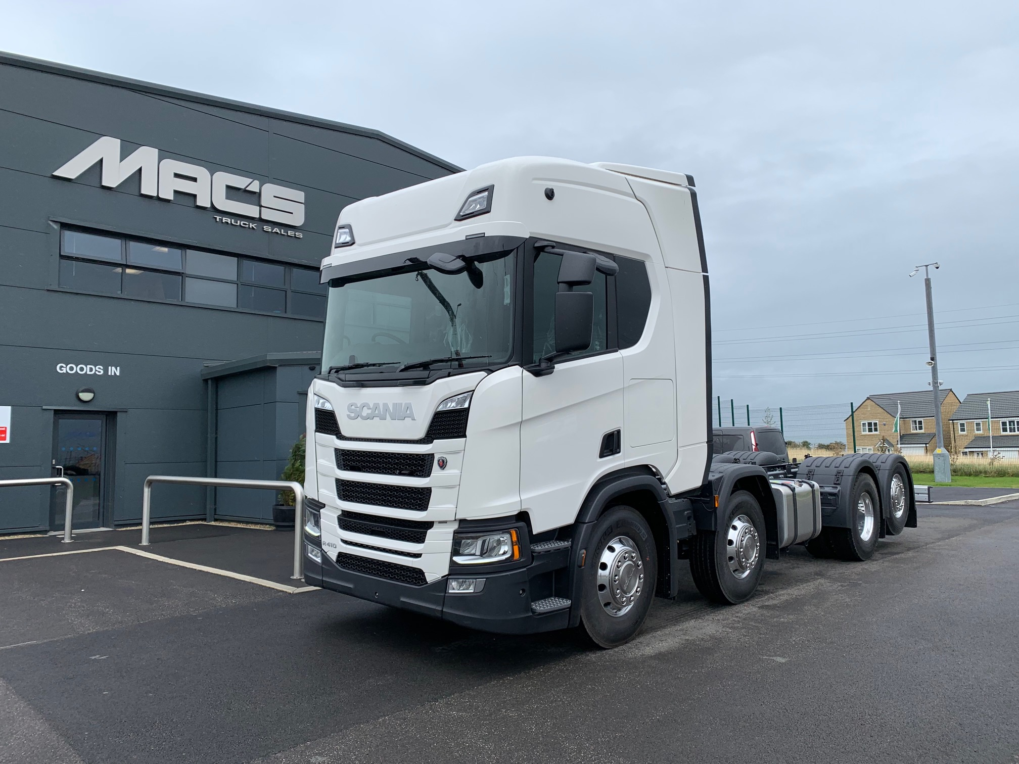 Scania (2019) R410 8 x 2 Body of Your Choice