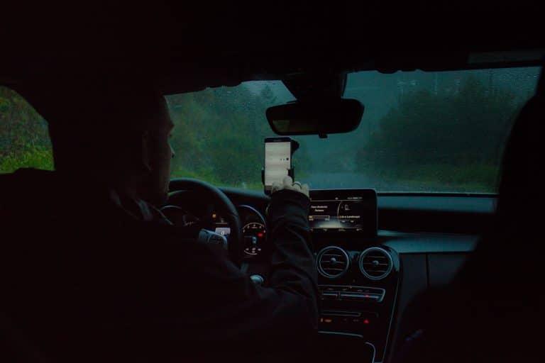 Driver Using Phone